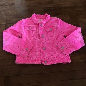 Bright Pink Gymboree Jacket